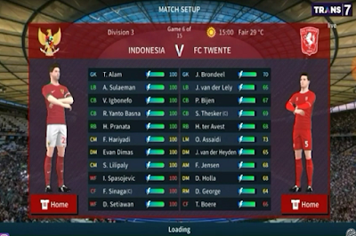 Download Game Android DLS 2020 Timnas Indonesia U-16 2020