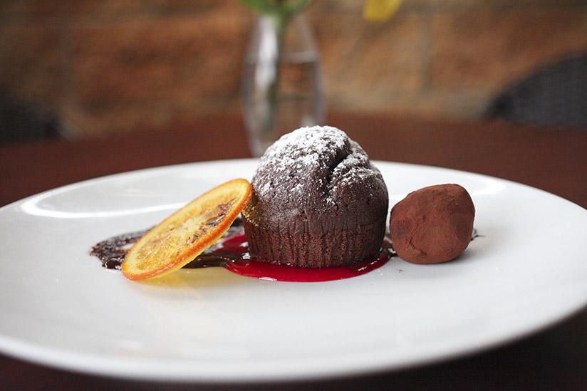 Chocolate Cake and Truffle