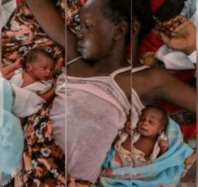 Meet The 12- Year- Old Girl Who Gave Birth To A Set Of Twins