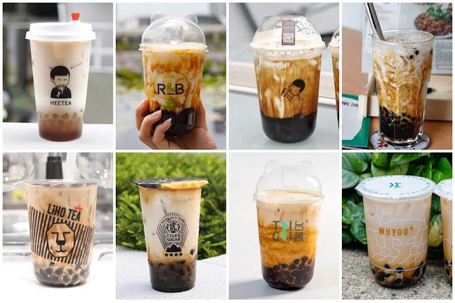 5 loại trà sữa tốt nhất Singapore