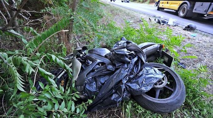 Halálba vitte utasát a motoros – kisodródtak, egy 35 éves nő szörnyethalt