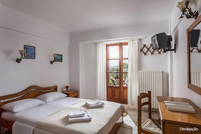Hospedagem em Monemvasia, Grécia - Petrino Guesthouse