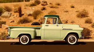 1956 Chevrolet Series 3100 Pickup Side Right