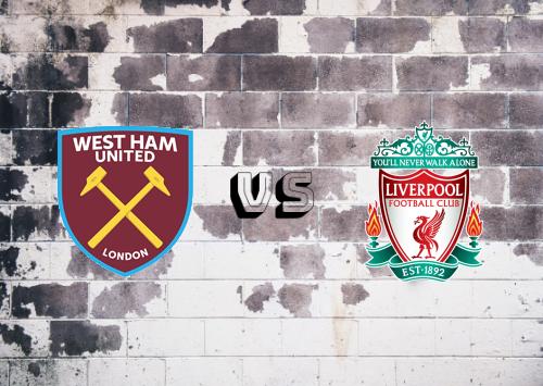 West Ham United vs Liverpool  Resumen y Partido Completo