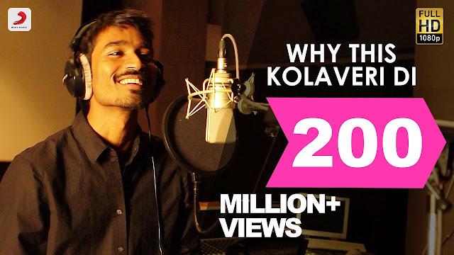 Why This Kolaveri Di Lyrics In English - Ft. Dhanush