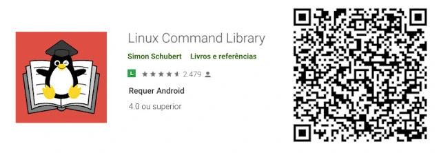 linux-comandos-terminal-documentação-wiki-biblioteca-android-app-google-play