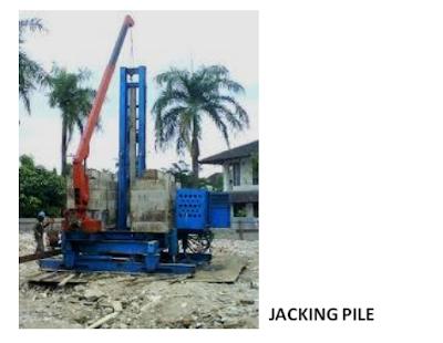 jacking pile