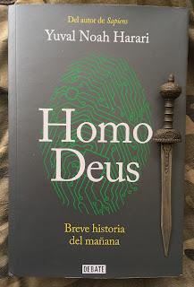 Portada del libro Homo Deus, de Yuval Noah Harari