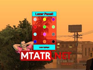 MTA SA Lazer Panel - Laser Panel