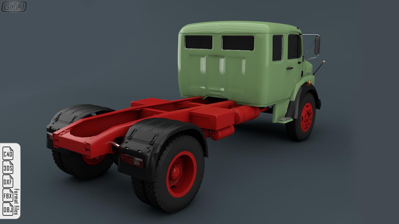 Mercedes Benz Truck 1519