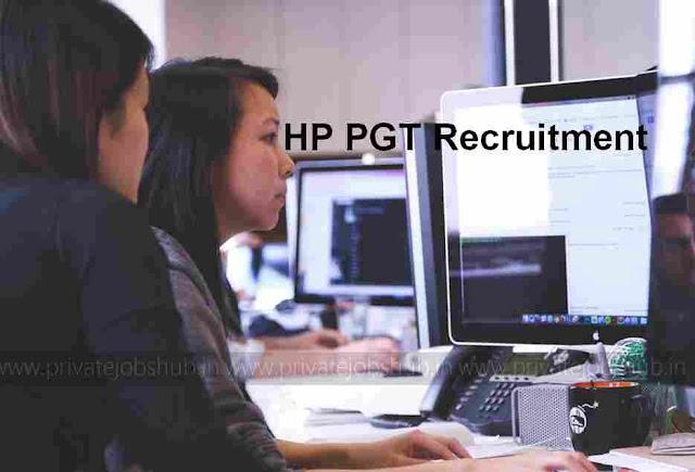 HP PGT Recruitment