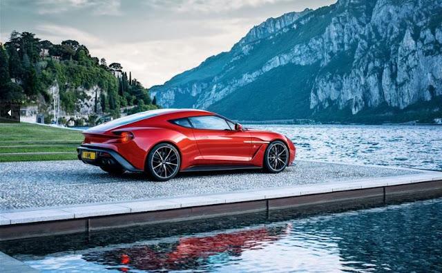 Aston Martin Vanquish Zagato - Incluye conceptos de diseño del Aston Martin Vulcan y el One-77.