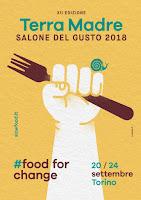 Manifesto del Salone del Gusto Terra Madre 2018
