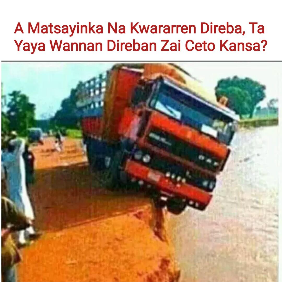 A Matsayinka Na Kwararren Direba, Ta Yaya Wannan Direban Zai Ceto Kansa?
