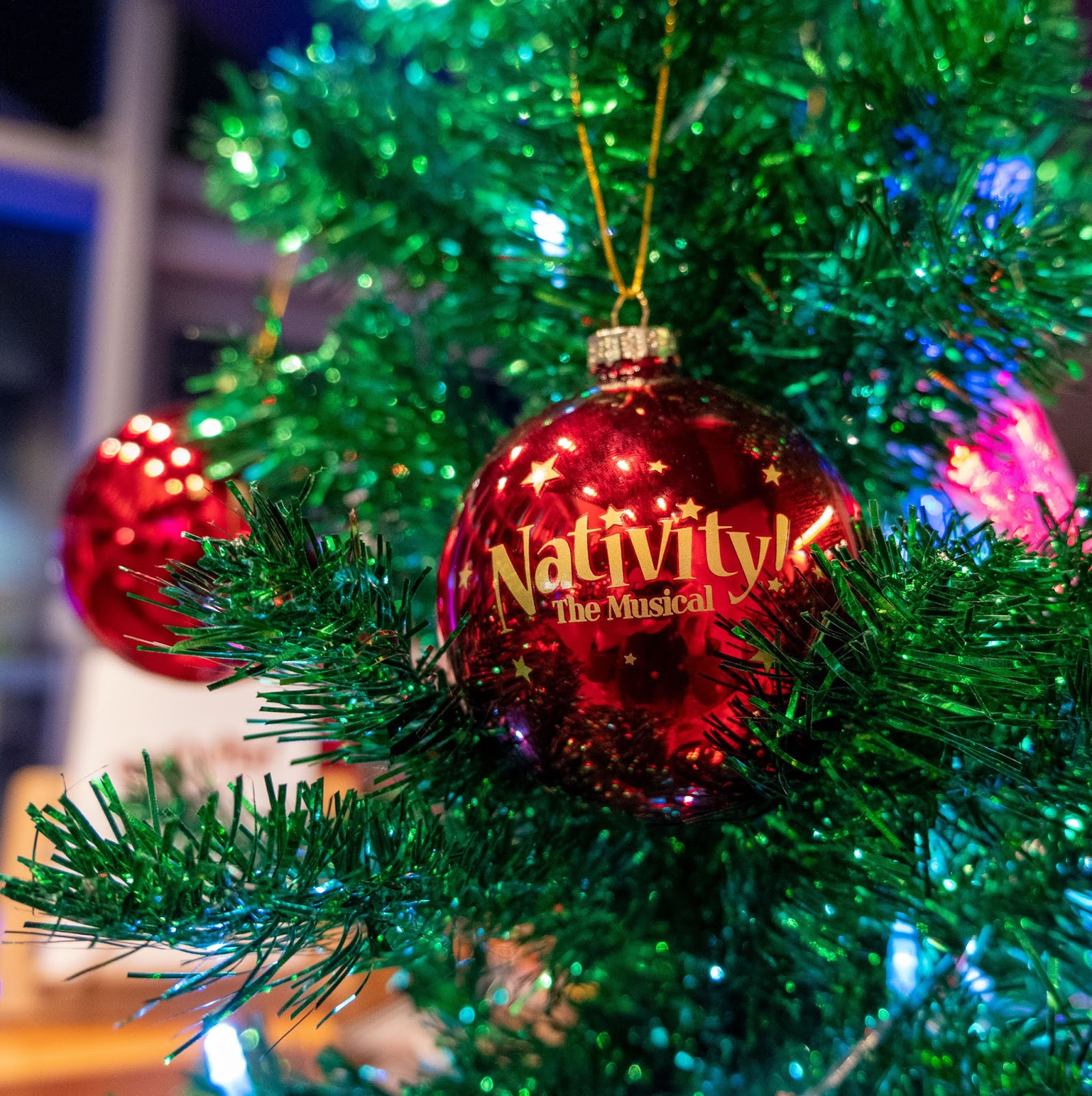 Nativity the Musical souvenir bauble