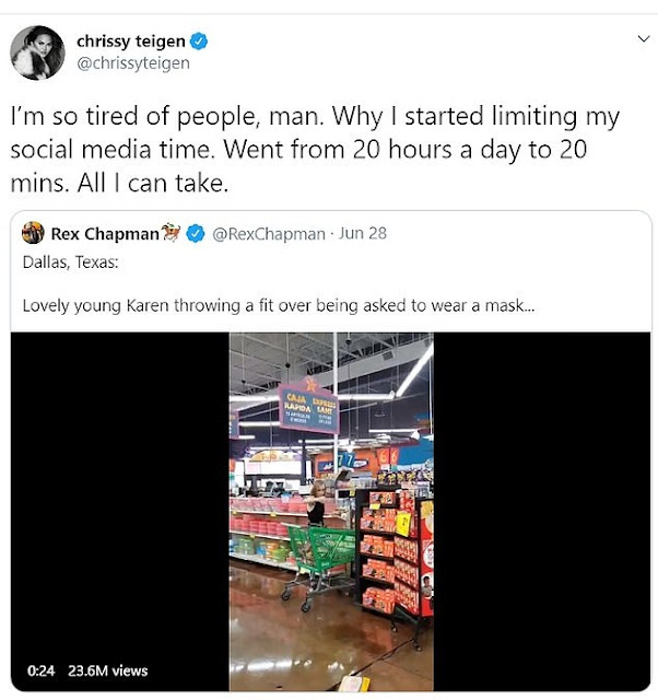 Woman%2Bgoes%2Bberserk%2Bat%2Bsupermarket%2Bwhen%2Bshe%2Bwas%2Basked%2Bto%2Bwear%2Ba%2Bface%2Bmask%2B%255Bphotosvideo%255D - Girl goes berserk at grocery store when she was requested to put on a face masks [photos/video]