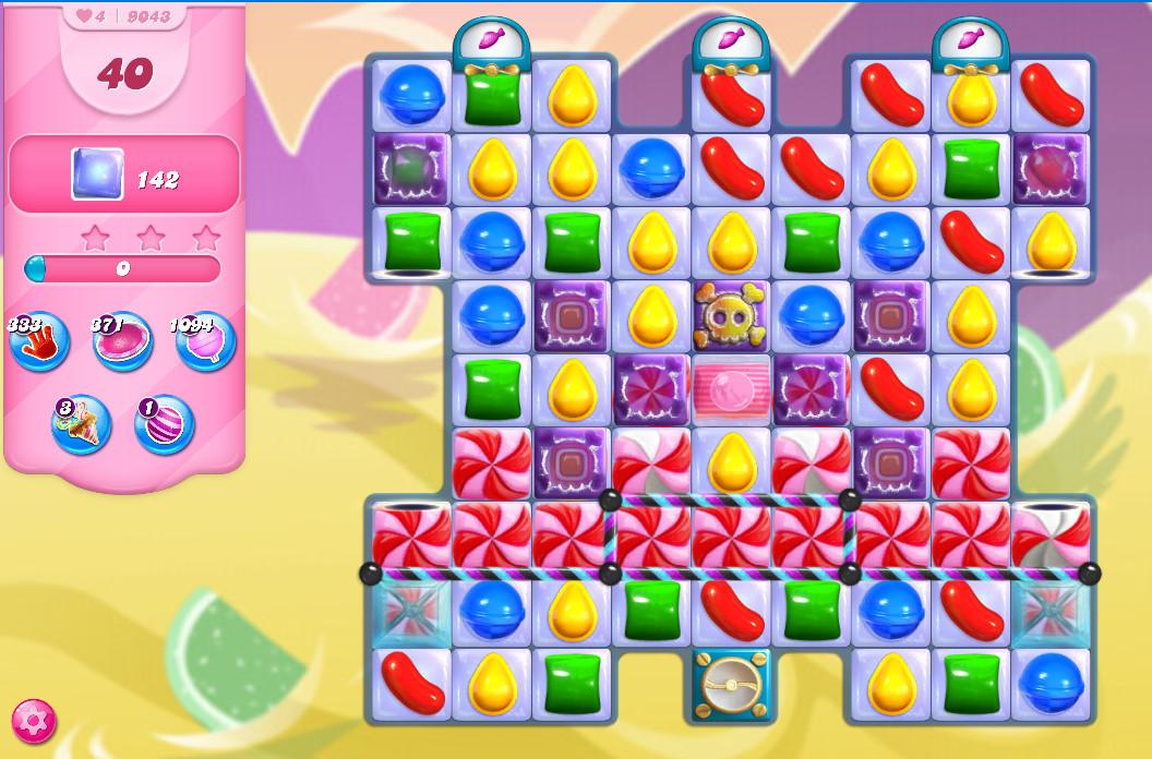 Candy Crush Saga level 9043