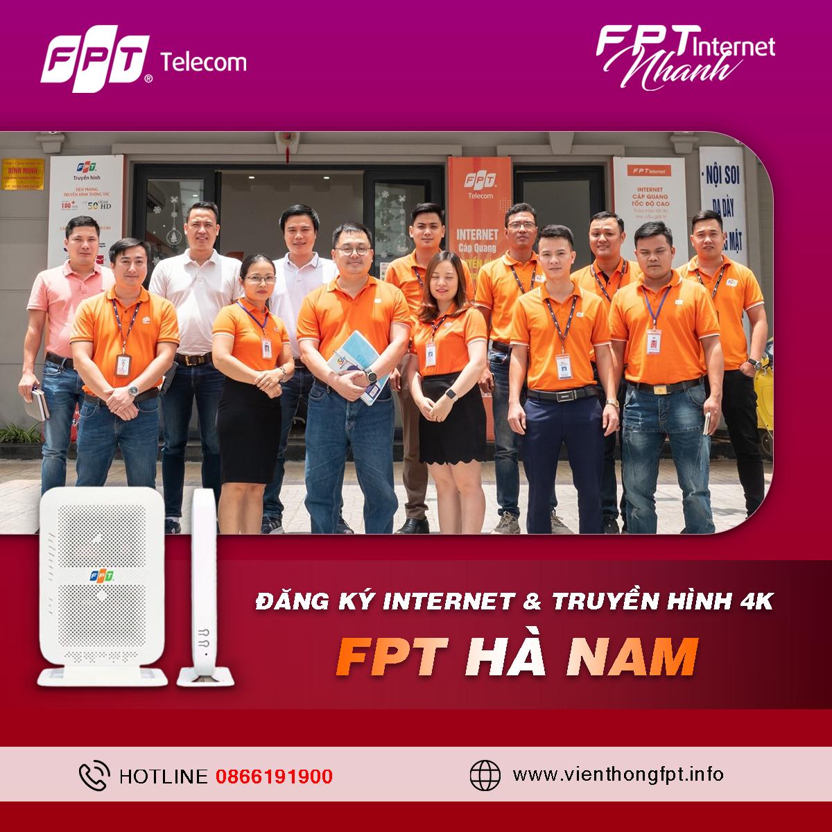 Đăng ký Internet FPT Hà Nam - Tặng 2 tháng cước sử dụng