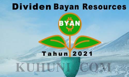 Dividen BYAN 2021 Per Lembar