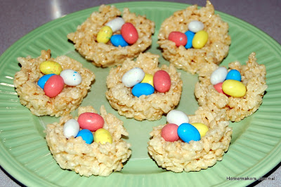 Easter Bird's Nests and The Jelly Bean Poem