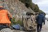 Ημαθία: ΙΧ κυνηγού ανετράπη στο δρόμο Ξηρολιβάδου - Βέροιας (φωτο)