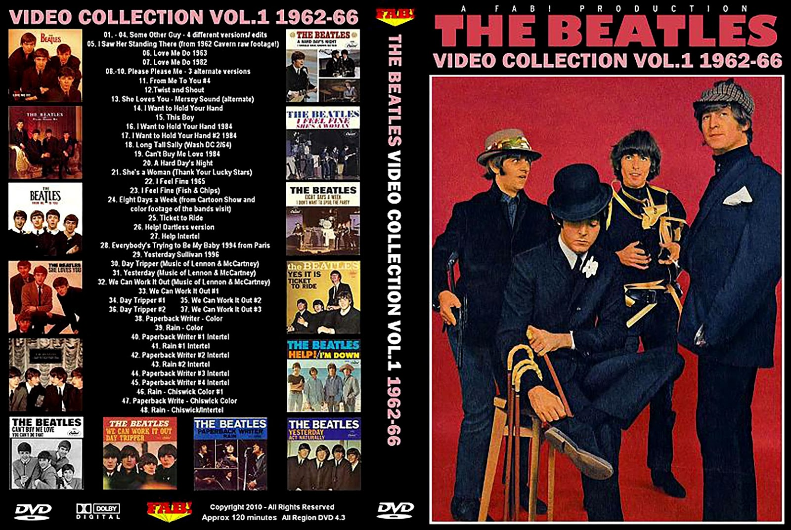 The Beatles - The Video Collection Vol.1 1962-66 DVD