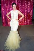 Hamsa Nandini in stunning Sleeveless Designer Gown at Zee Telugu Apsara Awards 2017 10.JPG