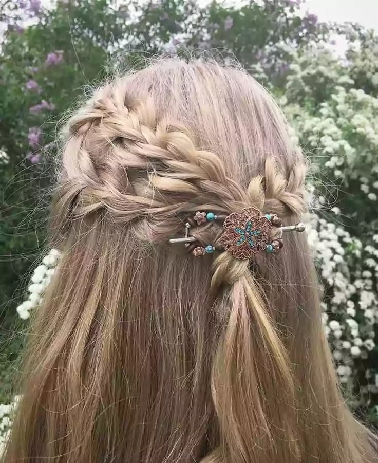 Hairstyle for long hair 2020