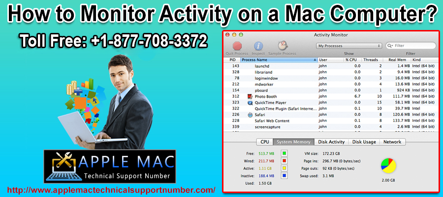 How to Monitor Activity on a Mac Computer?