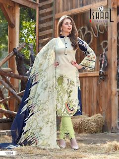 Ishaal print Gulmohar Combo Pakistani Suits wholesaler