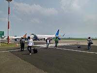 tiba di bandara abdurahman shaleh malang