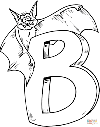 B Coloring Page 5