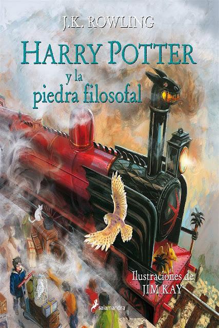 La piedra filosofal (ilustrado) | Harry Potter #1 | J.K. Rowling