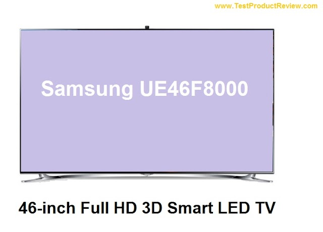 Samsung UE46F8000 premium 46-inch Full HD 3D Smart LED TV