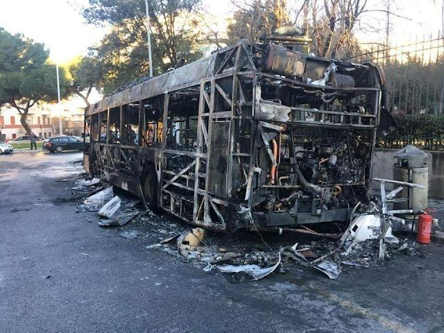 Atac, troppi roghi di autobus, nuovo sistema antincendio