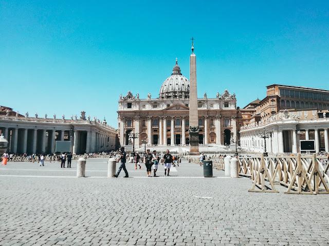 Rzym; Rome; Italy; Włochy; Watykan; Vatican; Vaticano; Plac sw Piotra