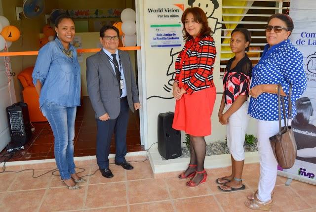 World Vision inaugura su Sala Amiga de la Familia Lactante