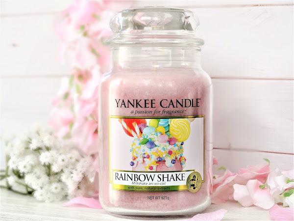 Rainbow Shake - Milkshake Arc-en-Ciel de Yankee Candle