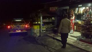 Berikan Rasa Aman Kepada Masyarakat, Polsek Anggeraja Polres Enrekang Giatkan Patroli Blue Light