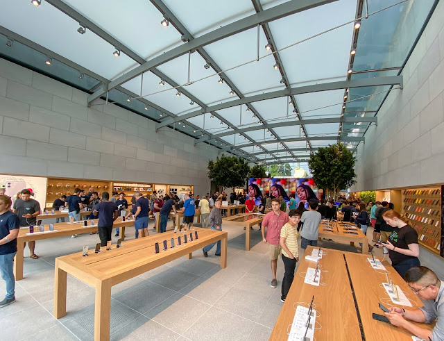 ابل تستعيد قوتها من جديد من أجل العملاء وستفتح متاجر اخري للعملاء الدائمين apple 2021