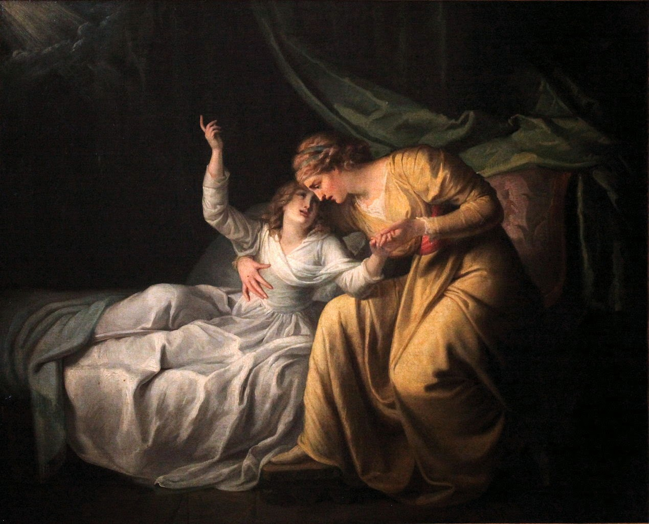 Death of Miss Gardiner (1789), Maria Cosway