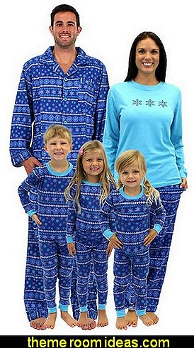 Christmas Frozen Winter Family Matching Pajamas