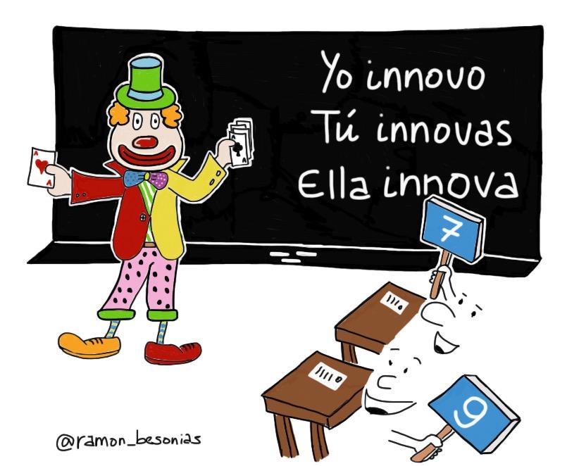 Resultat d'imatges de innovación educativa