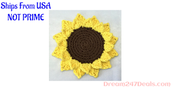 30% Off Handmade Sunflower Coasters - Set Of Four - Made In The USA