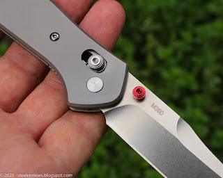 Benchmade BM940Ti titanium clone