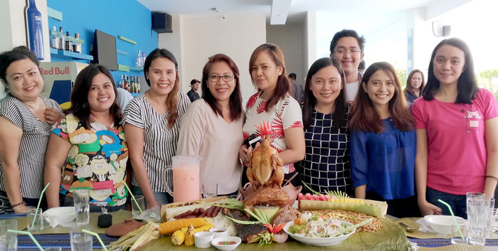 Boodle Fight 3-peat at RBG Bar and Grill this Kadayawan