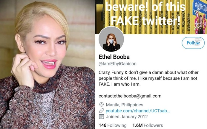 Not charot? Ethel Booba's Twitter account with 1.6M followers is fake