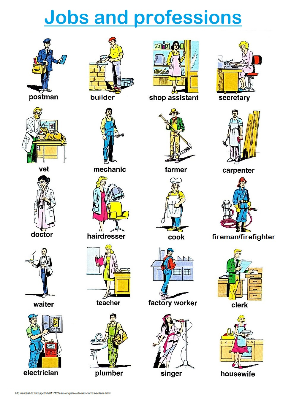 You English Student Jobs And Professions