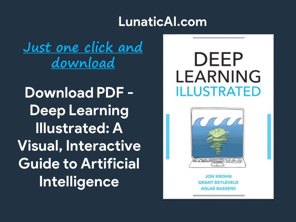 Deep Learning Illustrated PDF GitHub