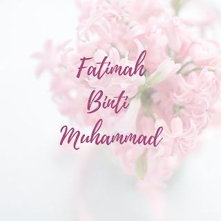 Fatimah Binti Muhammad The Leader Woman in Paradise